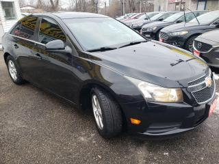 Used 2012 Chevrolet Cruze LT/P.ROOF/BT/LOADED/ALLOYS++ for sale in Scarborough, ON