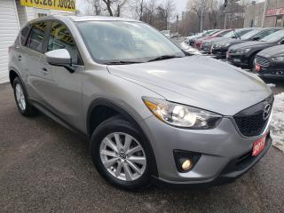 Used 2013 Mazda CX-5 GS/AWD/NAVI/CAMERA/ROOF/P.SEAT/BT/LOADED/ALLOYS for sale in Scarborough, ON