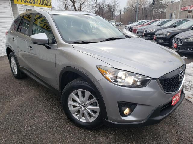 2013 Mazda CX-5 GS/AWD/NAVI/CAMERA/ROOF/P.SEAT/BT/LOADED/ALLOYS
