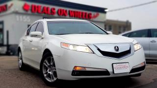 Used 2010 Acura TL 5-Speed AT for sale in Oakville, ON