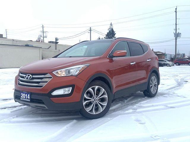 2014 Hyundai Santa Fe Sport Limited|Leather|Navi|Clean Carfax|
