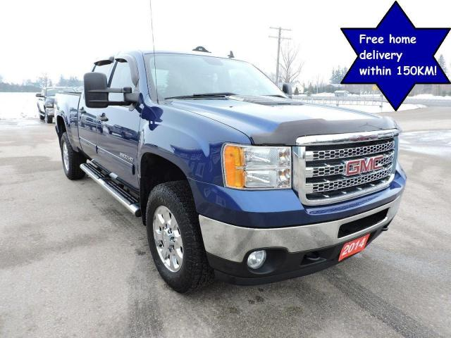 2014 GMC Sierra 2500 SLE Diesel 4X4 Well oiled Only 143000 km