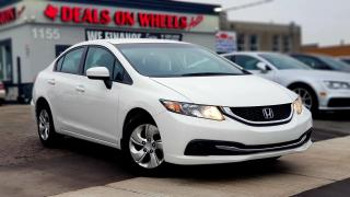 Used 2014 Honda Civic LX for sale in Oakville, ON