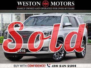 Used 2016 GMC Yukon DENALI*4X4*7PASS*FULLY LOADED* for sale in Toronto, ON