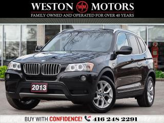 Used 2013 BMW X3 XDRIVE*28i*REVCAM*NAVI!!* for sale in Toronto, ON