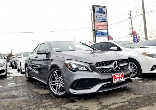 2018 Mercedes-Benz CLA-Class Low Km's |AWD | Coupe |AMG pack | Certified