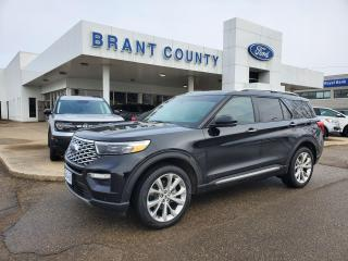 Used 2021 Ford Explorer Platinum for sale in Brantford, ON