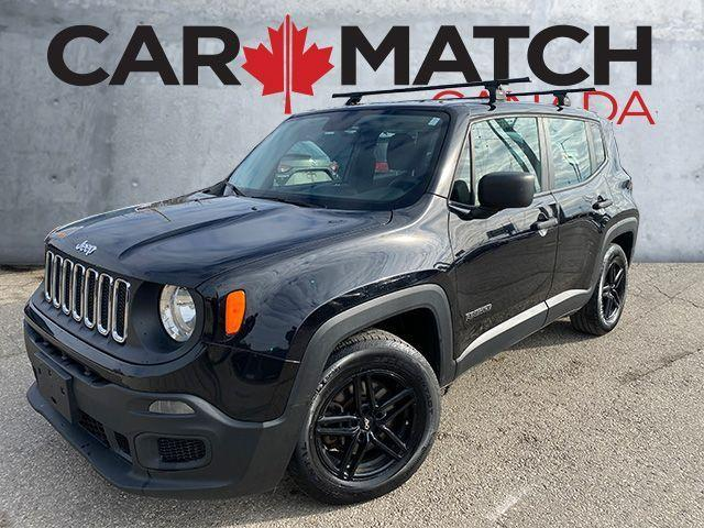 2015 Jeep Renegade SPORT / MANUAL / 114,405 KM