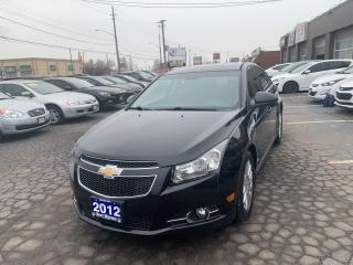 Used 2012 Chevrolet Cruze LT Turbo+ w/1SB,RS for sale in Hamilton, ON