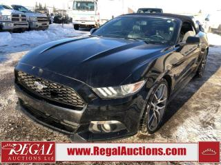 Used 2015 Ford Mustang ECO PREMIUM 2D CONVERTIBLE 2.3L for sale in Calgary, AB