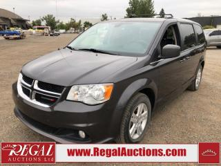 Used 2018 Dodge Grand Caravan Crew Plus 4D WAGON 3.6L for sale in Calgary, AB