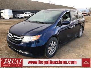 Used 2014 Honda Odyssey EX-L W/RES 4D Wagon 3.5L for sale in Calgary, AB