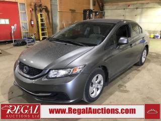 Used 2013 Honda Civic LX 4D Sedan for sale in Calgary, AB