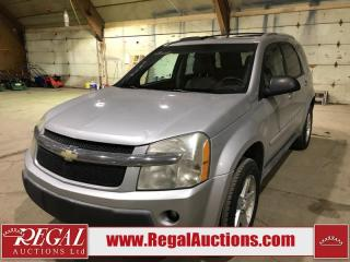Used 2005 Chevrolet Equinox LT 4D Utility AWD for sale in Calgary, AB