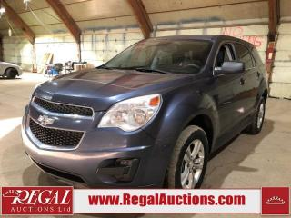 Used 2013 Chevrolet Equinox LS 4D Utility AWD for sale in Calgary, AB