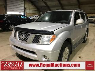 Used 2006 Nissan Pathfinder 4D Utility 4WD for sale in Calgary, AB
