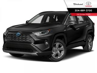 New 2021 Toyota RAV4 Hybrid Limited for sale in Winnipeg, MB
