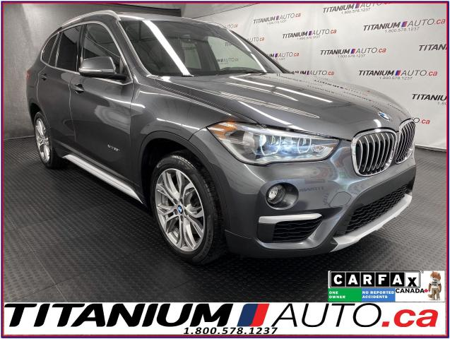2017 BMW X1 GPS+Camera+HUD+Pano Roof+Power Tail Gate+AWD+XM