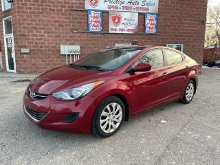 Used 2013 Hyundai Elantra 1.8L/6 SPEED/ONE OWNER/SAFETY INCLUDED for sale in Cambridge, ON