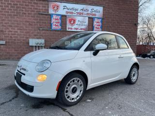 Used 2012 Fiat 500 1.4L/LOW KMS/5 SPEED/NO ACCIDENTS/SAFETY INCLUDED for sale in Cambridge, ON
