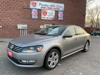 Used 2012 Volkswagen Passat 2 TDI/Highline/ONE OWNER/SAFETY INCLUDED for sale in Cambridge, ON