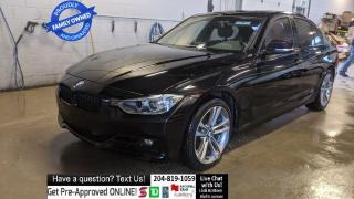 Used 2013 BMW 3 Series 328i xDrive SPORT Sunroof Leather Htd seat CLEAN for sale in Winnipeg, MB
