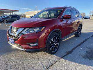 Used 2017 Nissan Rogue SL AWD - HEATED LEATHER & WHEEL, REMOTE START, NAV for sale in Kingston, ON