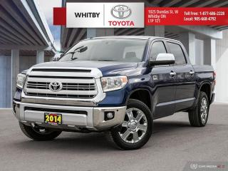 Used 2014 Toyota Tundra Platinum for sale in Whitby, ON
