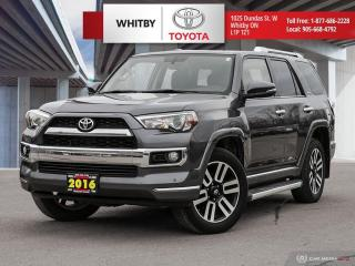 Used 2016 Toyota 4Runner SR5 for sale in Whitby, ON