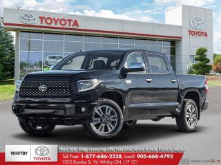 New 2021 Toyota Tundra Platinum for sale in Whitby, ON