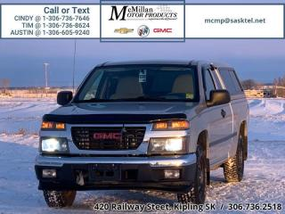Used 2007 GMC Canyon SL  NO CLAIMS,WITH TOPPER,ONLY 91,000KMS! for sale in Kipling, SK