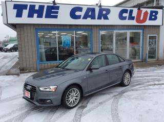 Used 2015 Audi A4 Komfort plus quattro - S LINE - LEATHER - SUNROOF! for sale in Ottawa, ON