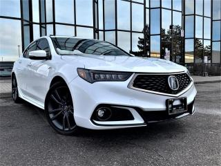 Used 2018 Acura TLX SH-AWD TECH A-SPEC  PADDLE SHIFTER REAR VIEW SUNROOF ALLOYS! for sale in Brampton, ON