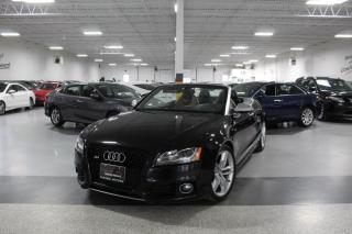 Used 2010 Audi S5 CABRIOLET QUATTRO I NAVIGATION I REAR CAM I HEATED SEATS for sale in Mississauga, ON