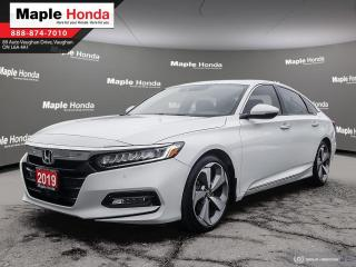 Used 2019 Honda Accord Touring|Leather Seats|Navigation|Wireless Charging for sale in Vaughan, ON