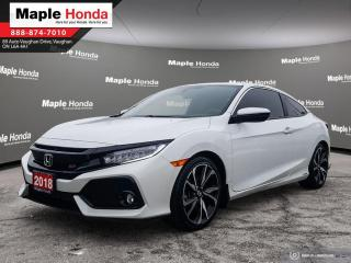 Used 2018 Honda Civic Si|Navigation|Wireless charging|Sunroof| Two sets for sale in Vaughan, ON