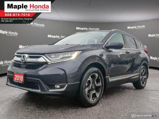 Used 2018 Honda CR-V Touring|Leather Seats|Navigation|Heated Steering w for sale in Vaughan, ON