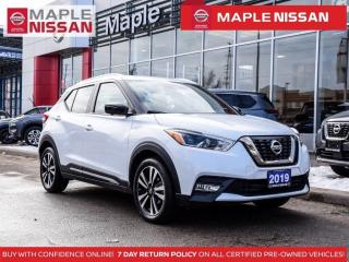 Used 2019 Nissan Kicks SR Apple Carplay Leather 360 Cam Remote Starter for sale in Maple, ON