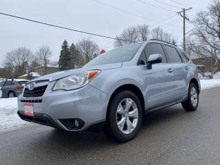 Used 2014 Subaru Forester Touring, Leather, Pano, Rear Cam, Navi, Accident Free for sale in King City, ON