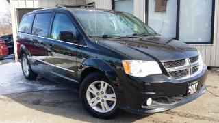 Used 2017 Dodge Grand Caravan Crew - LEATHER! BACK-UP CAM! PWR DOORS! for sale in Kitchener, ON