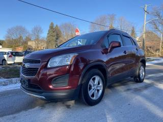 Used 2014 Chevrolet Trax AWD, LT, BLUETOOTH, ACCIDENT FREE, CERTIFIED for sale in King City, ON