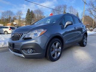 Used 2013 Buick Encore FWD, BLUETOOTH, REAR CAMERA, ONSTAR, CERTIFIED for sale in King City, ON