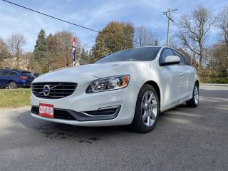 Used 2015 Volvo V60 T5 AWD 2.5T, SUNROOF, HTD SEATS, ACCIDENT FREE for sale in King City, ON