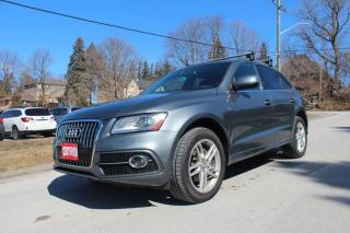 Used 2014 Audi Q5 Quattro, Progressiv S-Line, Accident Free, Pano for sale in King City, ON