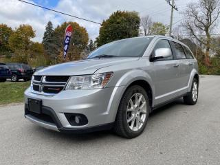 Used 2013 Dodge Journey AWD R/T, HTD STEETING WHEEL, HTD SEATS, REAR CAM, NAVI for sale in King City, ON