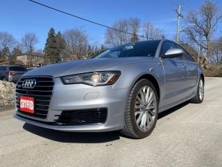 Used 2016 Audi A6 2.0T Technik Quattro, Loaded, Accident Free, One Owner for sale in King City, ON