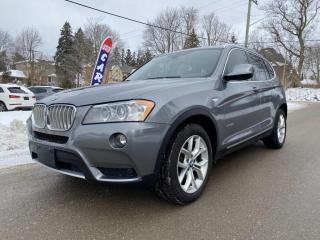 Used 2013 BMW X3 AWD 28i, Pano, Rear Cam, Htd Steering Wheel, for sale in King City, ON