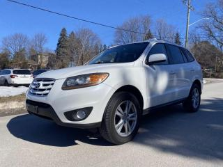 Used 2010 Hyundai Santa Fe AWD I V6 I LEATHER I SUNROOF I BLUETOOTH I HTD SEATS for sale in King City, ON