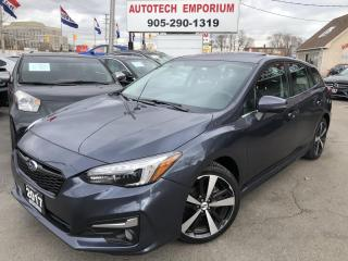 Used 2017 Subaru Impreza SPORT-TECH Leather/Navigation/Sunroof/Carplay for sale in Mississauga, ON