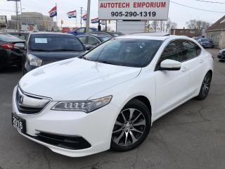 Used 2016 Acura TLX TECHNOLOGY Navigation/Camera/Sunroof/Htd Seats for sale in Mississauga, ON